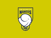 Nantes basketball team logo