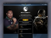 Mortal Kombat X contest for Playstation