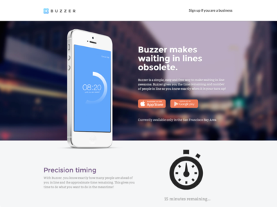 Buzzer App Splash: Makes Waiting In Line Obsolete buzzer virtual tagging iphone app