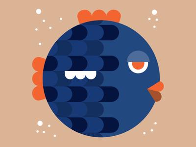 The balloon fish