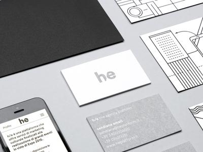 h/e the agency platform