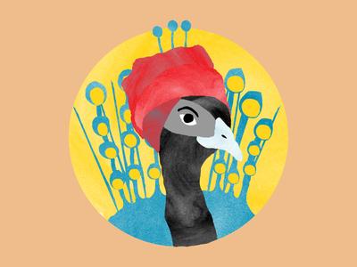 Uovok 2015 Tattoo peacock tattoo kids children icons illustration