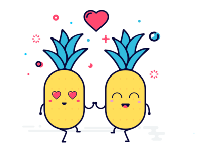 The love pineapple
