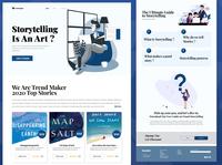 StoryTelling - Landing Page