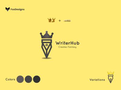 WriterHub' Logo - Client Work
