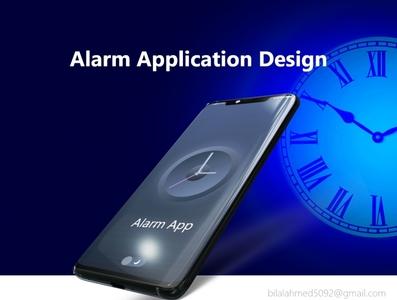 Alarm Application Design