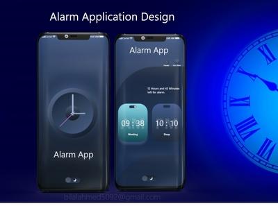 Alarm App Screens