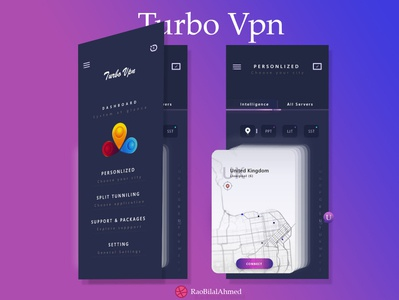 Turbo Vpn - UIX Design