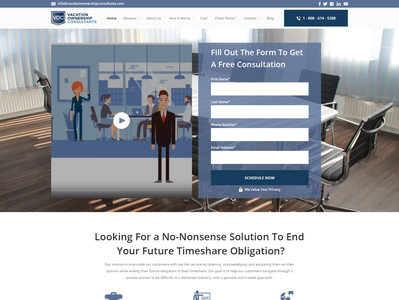 Homepage Mock-Ups For Legal Company - Wireframe Provided web page law attroney legal corporate modern minimalist clean