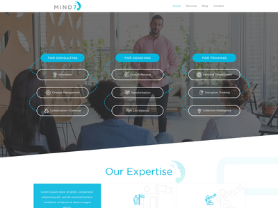 Snazzy website for my executive coaching, consulting and trainin web page modern simple minimalist clean trainingdevelopment coaching consulting business