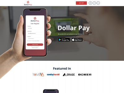 Mobile App & Landing Page mobileapp technology