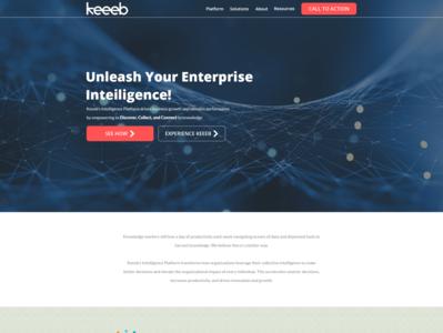 Design an engaging website for a digital transformation startup