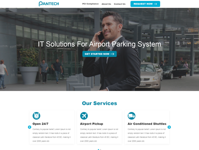 IT Solution Company - Targeting off Airport Parking System / Air