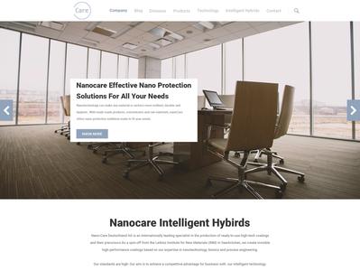 Nano Care Webdesign