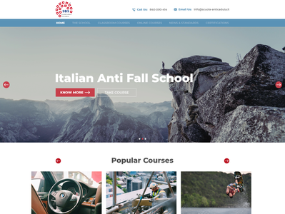 A new home page for a school of excellence