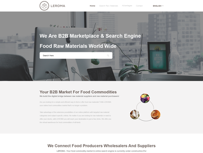 B2B Platform for the food industry