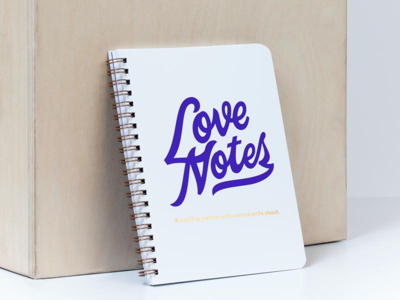 Love Notes davids bridal smiledirectclub script vector letter hand lettering lettering typography type