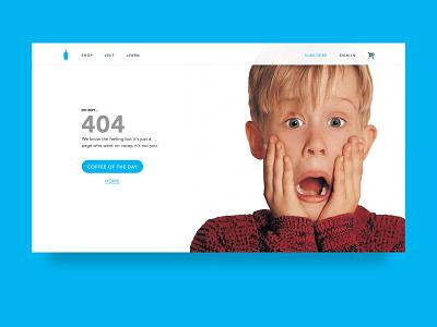 Daily UI - 008 - 404 Page 008 dailyui 404 page web design minimal clean daily ui