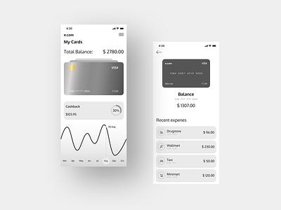 E.com e-commerce design e-commerce app bank app banking bank mobile banking e-commerce banking app application app design design