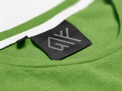 Notex - Logo Mockup tag design sign logotype logo mockup line logodesign identity design t shirt green label knitted tag logo branding mockup graphicdesign print design design