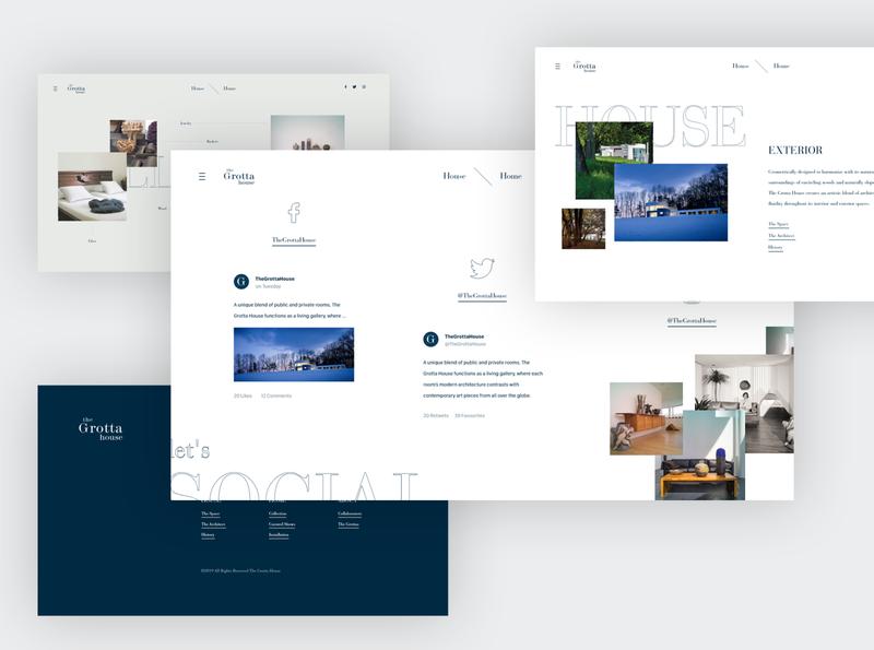 Interior Website Design II