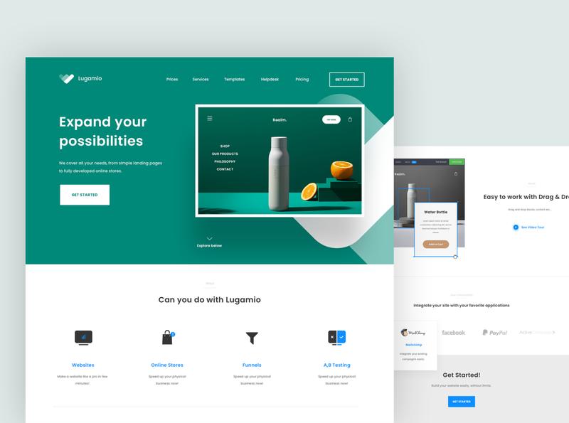 Website Builder Concept