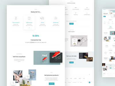 Website Builder Concept II