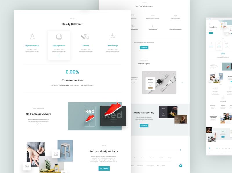 Website Builder Concept II