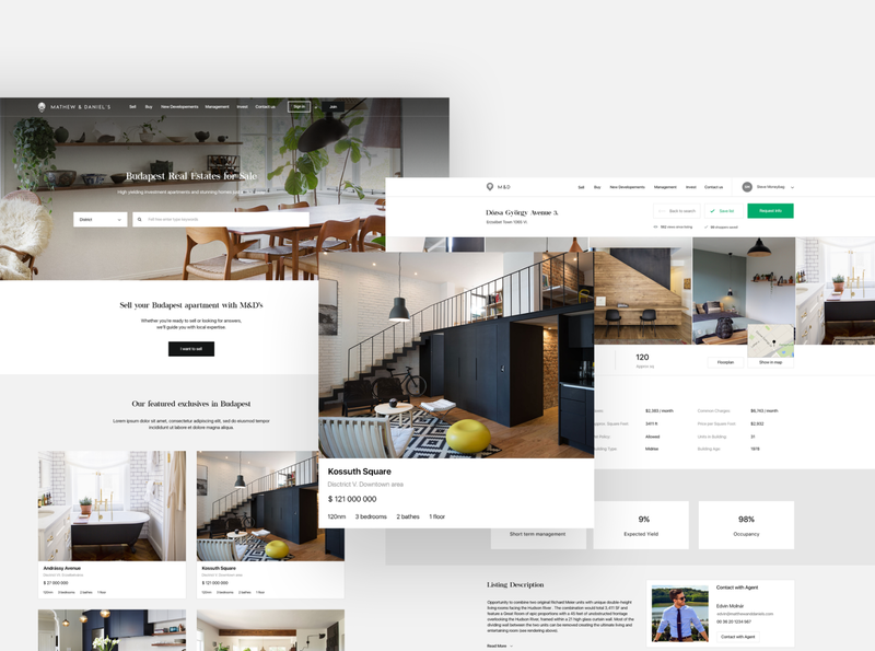 Real Estate Company Website
