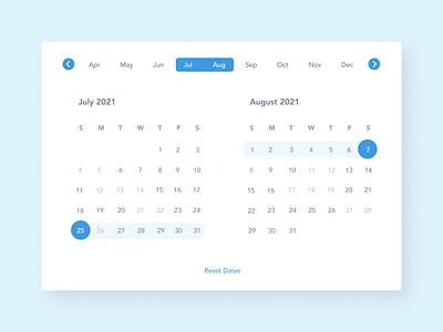 Daily UI 038 - Calendar daily ui 038 calendar 038 web ui interface design dailyui daily ui challenge ui design ui challenge
