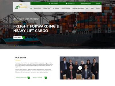 Web Design - Corporate Website corporate ux ui web design