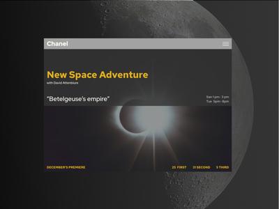 Space Sci TV show announcement