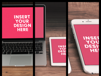 Preview - Freebie: Apple Devices Mockup Presentation