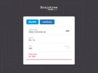 Sketch Freebie: Braintree Drop-In UI Form