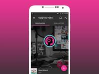 Material Radio App