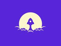 Rocket - Daily Logo Challenge Day #1
