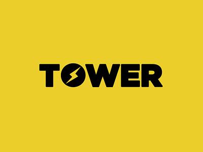 Tower logo tower branding