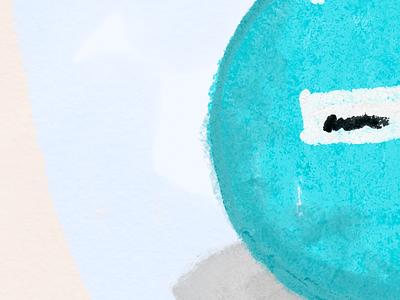 Illy Exploration: Bag ipad illy texture illustration