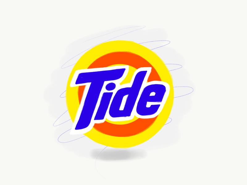 Tide Logo by Ryan Tauss | Dribbble | Dribbble