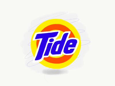 Tide Logo ipad illustration illy