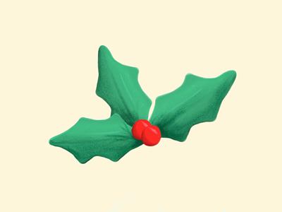 Holly Jolly holidays illustration