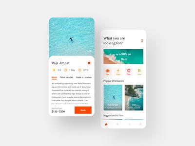Travel App travel agency travel app traveling travel design uiuxdesign clean ui uiux ux ui ux design ui design
