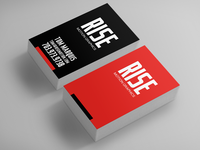 Rise Motion Business Cards