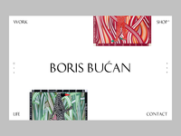 Boris Bucan — Artist Website