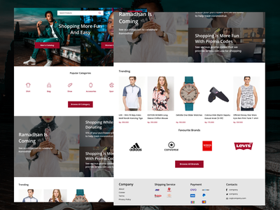 Daily UI Fashion E-Commerce Landing Page ux design user experience user interface figma branding ecommerce landing page fashion ux design ui design uidesign uiux ui daily ui dailyui app