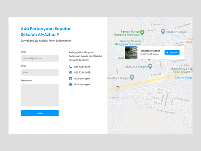 Contact Form and Location Maps Exploration contact us info maps location form contact uxdesign ui design web website ux user interface user experience ui uiux uidesign figma design
