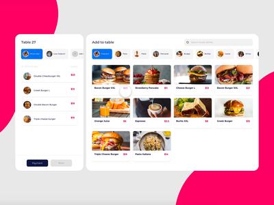 Plasindo POS foodie food and drink food app restaurant food art design animation website web ux ui app