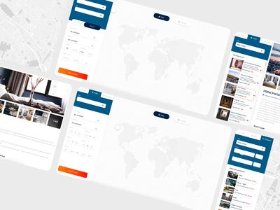 TravelBoss business travel animation website web ux ui design app