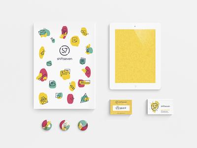 Shiftseven  tag wallpaper card ui ux seven shift shiftseven colors brand branding