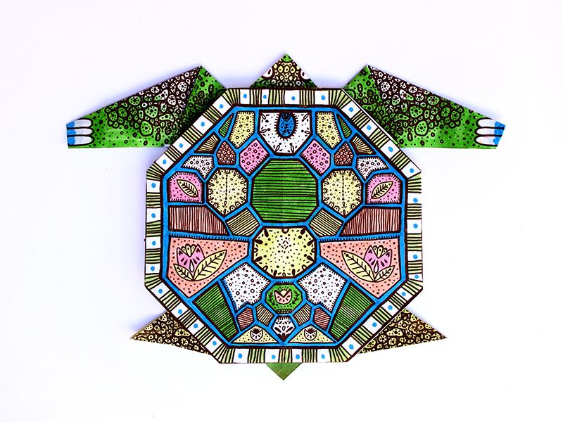 Buy Toykraft: Origami Under Sea World - Craft Activity Kit for ... | 600x800